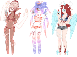 Xynthii: Summer Fun Adopts: CLOSED by ObsceneBarbie