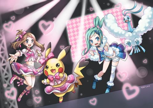 PokeORAS - Contest Idol by MONO-Land