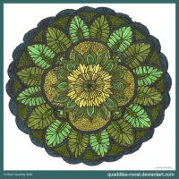 Evergreen Mandala by Quaddles-Roost