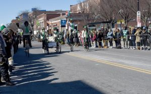 St. Patrick's Day Parade, Biking It 2 by Miss-Tbones