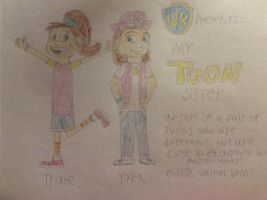 My toon sister by tanasweet123