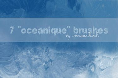 Oceanique Brush Set by meaikoh