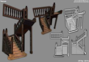 Tudor House - Staircase by DarrenTucker