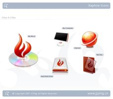 Xaphire Icons Preview by JJ-Ying