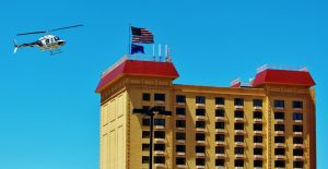 Fly by Hacienda Hotel and Casino by AthenaIce