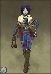 Valkyria Chronicles - Isara by CMZero
