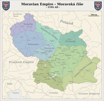 Moravian Empire by Arminius1871