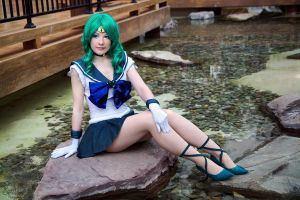 Sailor Neptune II - I by EnchantedCupcake