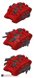 MICRO LAND RAIDER DIGITAL 02 by ARMAMENTFACTORY