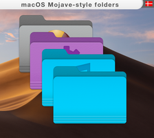 macOS-mojave style-folders by allannyholm