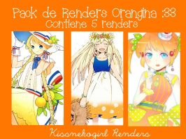 Pack de renders Orangina n_n by Kissnekogirl