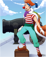 Buggy the clown by Cychrom