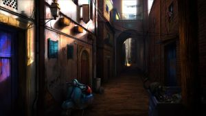 Alley by lordeeas