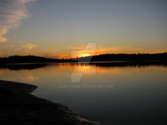 French River Sunset 2 by yourzombie