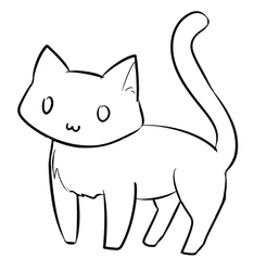 Animated kitty doodle by InsomniaDoodles