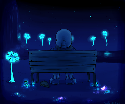 Quiet Water by BlueOrca2000