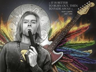 memoria: Kurt Cobain by mart-art