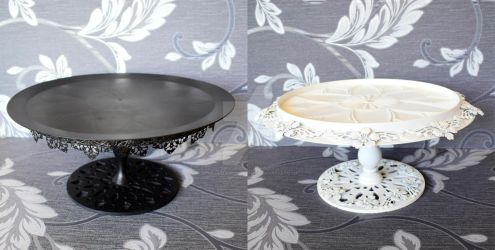 DIY Cake Stands by StargazeAndSundance