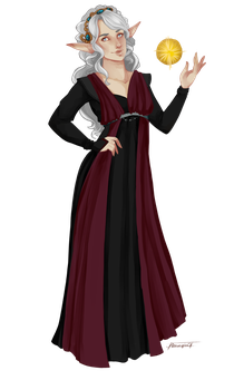 Athri, Lady of Sanctuary by Amaryia