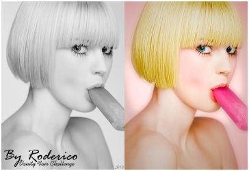 Colorization, Channel Candy by ByRoderico