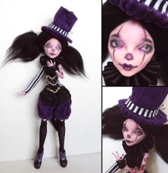 Circusgirl - Monster High Operetta custom by fuchskauz