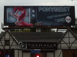 'Ponygeist' MLP Billboard by thepanther17fan