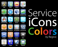 Service iCons Colors by Regivic