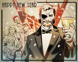 Happy New Year by E-Mann