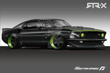 Mustang RTR-X Concept Renders by andyblackmoredesign