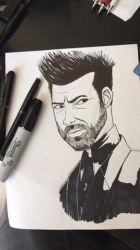 Jesse Custer by wolfprime