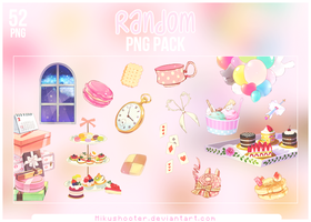 Random PNG Pack [#1] ~ (Pass in description) by MikuShooter