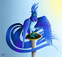 Blue Bird by Beagon