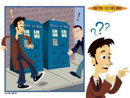 The Two Doctors Who Wallpaper by raisegrate