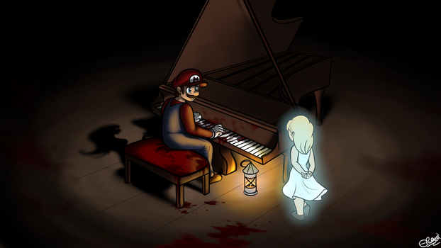 Aria's Piano - (Mario) The Music Box by Elwensa