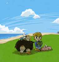 Wind Waker: Simple Days on Outset Island by Icy-Snowflakes