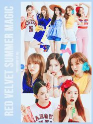 RED VELVET SUMMER MAGIC 10P png by hei by hyukhee05
