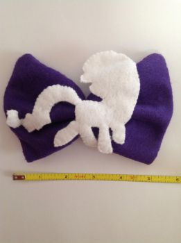Rarity Bow by KittieKitsuneko