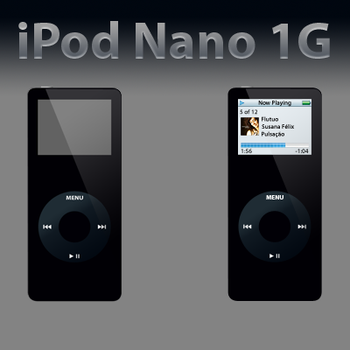 iPod Nano 1G by JoelCalado
