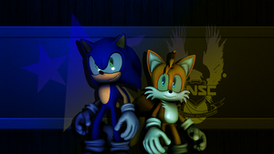 Rise of the Resistance and UNSC - Sonic and Tails by TheRaiBone12
