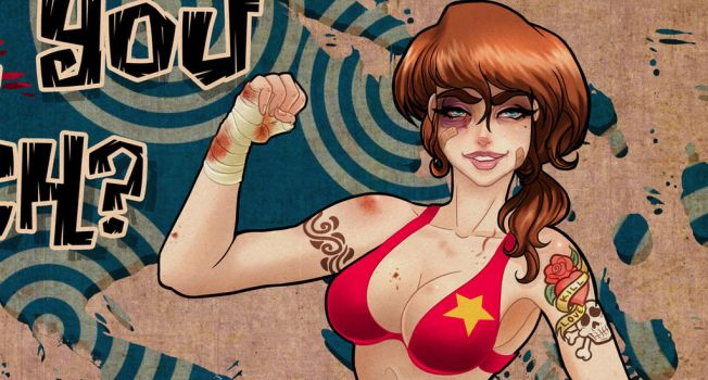 Fight girl by Victoria-Star
