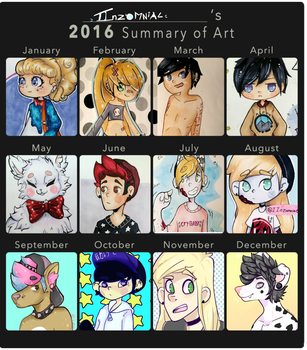 Art summary thing? by IInzomniac