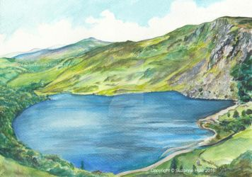 Lough Tay, Co. Wicklow by SuzanneHole