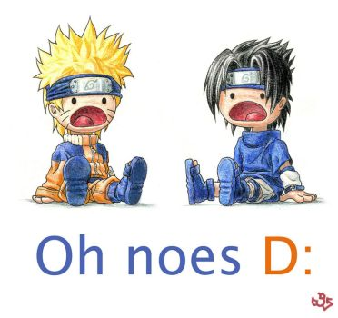 Oh Noes Naruto by K-6