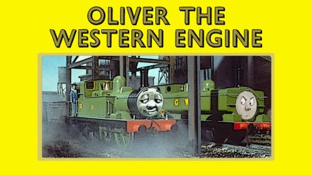 Oliver the Western Engine by JeffreyKitsch