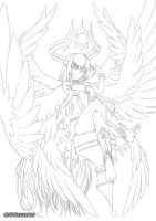 Lucifer Overlord of Pride by ADSouto