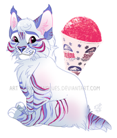Sno-Kone Lynx - Commission by RussianBlues