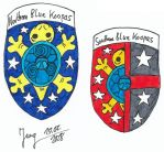 Coat of Arms from the Blue Koopas by HeinztheBlueGiant