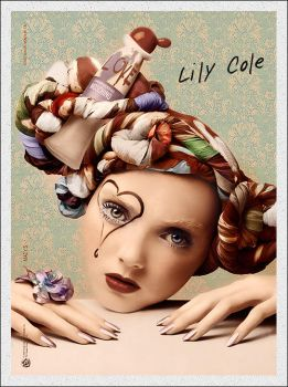 Color Lily Cole by nanitcha