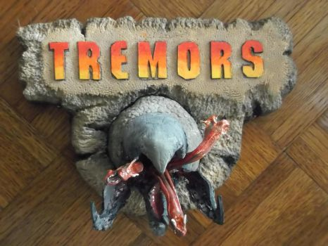 Clay Tremor's Graboid by pink12301