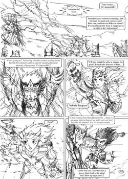 Saint Seiya #040 - The duty of a Knight by Gugaaa
